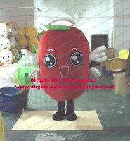 azuki bean - Delicious Red Ormosia Red Bean Vigna Angularis Azuki Bean Jujube Chinese Date Mascot Costume Cartoon Character Black Legs ZZ875