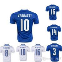 pelle pelle - Thailand Quality European Cup Italy Soccer Football Jerseys Pelle Pirlo De Rossi Marchisio Motta Buffon Chiellini