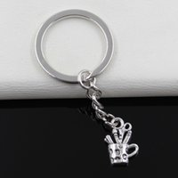 antique cross pens - Fashion diameter mm Key Ring Metal Key Chain Keychain Jewelry Antique Silver Plated pen containe mm Pendant