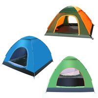 anti uv tent - Ultralight Person Quick Open Waterproof Fully Automatic Seasons Anti UV Single Layer Beach Camping Tent