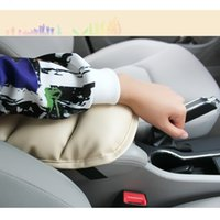 Wholesale Car Interior Accessories Car SUV Center Armrest Console Box Soft PU Pad Cover Cushion Wear Mat CDE_00A