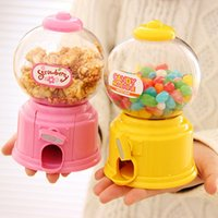 Wholesale DIY Baby Candy Favors Sweet Candy Machine Colorful Piggy Bank Saving Coin Box for Kitchen Baking Decoration Children Gifts
