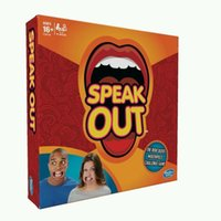 big club card - Speak Out Board Game Mouth Challenge Game Club Party Card Game Funny Toys Halloween Christmas Gift for Children Adult