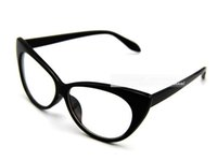 Wholesale DHL FEDEX fashion vintage Cat s eye modelling reading glasses women frame clear lens sunglasses CE DT0083