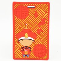 art cutting boards - 2 piece of creative Chinese wind cartoon checked luggage luggage tag on tags boarding pass necessary supplies to study abroad