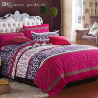 Wholesale family bedding sets bed set sheets bedspread duvet cover bedclothes linens colcha de cama bed cotton comforter