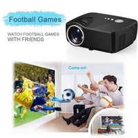 audio video source - GP70 Lumens LCD Projectors High Power LED Light Source Full HD Projector Video Home Cinema Support Stereo Audio Output