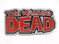 Wholesale Red The Walking Dead Belt Buckle