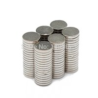 Wholesale 100pcs x mm NdFeB Neodymium Disc Super Strong Small Round Rare Earth N35 Small Fridge Magnets