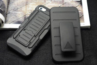 mobile phone market - Armor protection shell for Apple iphone5 s mobile phone case With a support function water dirt shock proof shell market