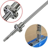 ball screw services - Hot Sale pc new Ball Screw SFU1605 L400mm Ballscrew With SFU1605 Single Ballnut for CNC Mechanical Parts Fabrication Services