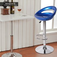 bar stools manufacturers - Blue red bar stool chair lift high reception seat manufacturers