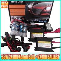 achat en gros de automobile cacha 35w-H9 kit de phares cachés 6000K 35W kits de conversion cachés automobiles avec ballasts électroniques 2X HID-H9SET 6000K 35W 55W