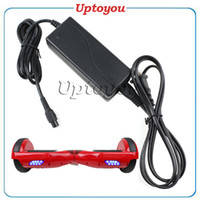 Wholesale Hoverboard Charger for scooter Universal Charger Battery charger for electric scooter smart balance board Hoverboard US UK AU EU Plug BEST
