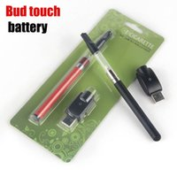auto glass direct - Auto Mini CE3 Vape O Pen Battery Thread Slim Bud Touch mAh Batteries With Mini USB Charger Blister kit eletronics China direct