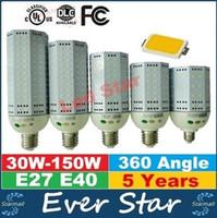 best canopies - AC V E27 E40 LED Corn Lamp W W W W W W Bulb Light Best Replace Street Canopy Lights
