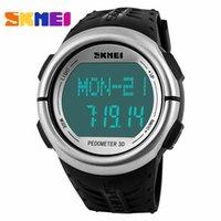 calorie counter watch - Watches Women Men brand skmei multifunction Pedometer Heart Rate Monitor Calories Counter Digital Outdoor sports watch reloj