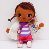 animal clinic - Retail cm Doc Mcstuffins Clinic Stuffed Plush Animal Toy Soft Doll For Children Brinquedo Girl Gift