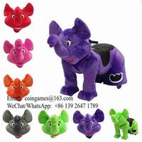Wholesale 5pcs pack Remote Control Battery Operated Electric Elephant Animal Ride Toy