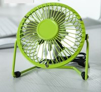 Wholesale FAN046 USB fan mini fan computer plug fan laptop plug fan rotate portable fan mute fan office fan bedroom fan studyroom fan