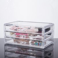 Wholesale 2016 New Custom Acrylic jewellery drawers Acrylic Makeup Organizer with Drawers Cosmetic Organizer YOUR BEST CHOICE