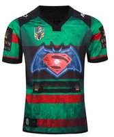 army national - NRL National Rugby League South Sydney Rabbitoh nd jersey High temperature heat transfer printing jersey Rugby Shirts