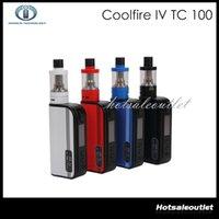 Cheap Innokin Coolfire IV TC 100 Kit with Cool Fire IV TC100 3300mah TC 100W Mod Battery Aethon Chipset 3ml iSub V Tank 100% Original DHL Free
