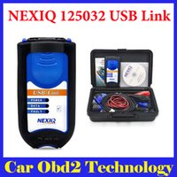 Wholesale 2015 New Arrival NEXIQ USB Link Software Diesel Truck Diagnose Interface and Software NEXIQ truck diagnostic tool by DHL Shipping