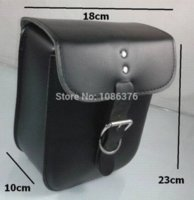 Wholesale Universal motorcycle luggage front back Shock absorber bag back of a chair package Leather amp Saddle Bags
