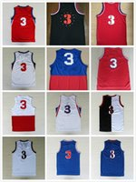 Wholesale 76 best quality New Allen sports basketball jerseys Mens sports jersey Rev Jerseys Embroidery Logo Mix Order