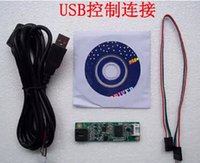 Wholesale 5PCS USB control unit line touch screen touch pad drive and connecting the real thing