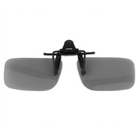 Wholesale 1Pcs Eyeglasses Lenses Clip On type Passive Circular Polarized D Lenses Clip Professional Hot Selling