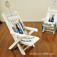 Wholesale Card Mobile Phone Accessories Office Chair Desktop Decoration Wooden Gifts Crafts Nautical Home Decor Wood Sea For