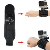 band tripod - Tripod Accessories Tripods Hand Strap Tripods Degrees Rotate Gopro Wrist Strap Arm Mount Wrist Band For Gopro Hero