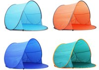Wholesale Outdoor picnic camping tent outdoor tent Double automatic quick opening beach tent children tent ultralight Double Picnic Tent