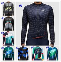 Wholesale New Arrival MAAP Cycling Team Summer Long Sleeve Cycling Jerseys Ropa Ciclismo Mountain Bicycle Compression Bike Clothing Autumn Winter