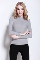 bearing double row - WAIBO BEAR New Cashmere Sweater Women Spring Cashmere Pullovers Long Sleeve half turtleneck sweater Slim Knitwear Jumper