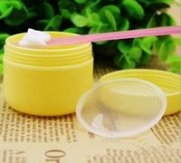 beauty packaging container - 20g Cream Bottle Factory Price PS Plastic Colorful Cream jar and Small Cosmetic Powder container for Beauty Package by DHL