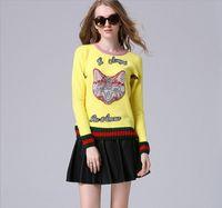 angora sweaters - Angora sweater cat sweater beaded diamond workers