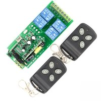 ak security - AK RK04SE v V V V V CH RF Wireless Relay Switch Learning Code Receiver Security System Garage Doors