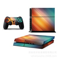 Cheap High Quality InFAMOUS: Second Son Game Decal Skin Sticker For Playstation 4 PS4 Console+2Pcs Stickers For PS4 Controller