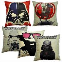 american flag pillow - Cartoon Pillowcase Creative Cartoon Pillow Case Cover Star Wars Pillowcase The Avengers Superhero Pillow Cover American Flag Pillow Cover