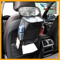 Wholesale Car Cooler Bag Seat Organizer Multi Pocket Arrangement Bag Back Seat Chair Car Styling Storage Bag Insulated Food