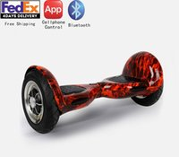 Wholesale Outdoor Sport inch Intelligent Electric Balance Scooter Smart Bluetooth Wheels Hoverboard Skateboard Self Balacing Scooter
