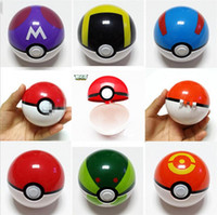 best finishes - ABS Action Anime Figures cm pikachu figure PokeBall Fairy Ball Super Ball poke Ball Kids Toys Gift styles best