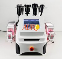 Wholesale 5 in lipo laser strong K lipo suction cavitaion radio frequency slimming cupping body shaping Beauty Machine AU