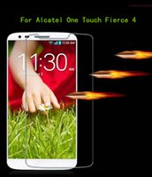 Wholesale For Alcatel One Touch Fierce Metropcs For Alcatel Dawn A5027 For Samsung Galaxy note J7 Tempered Glass Screen Protector Film