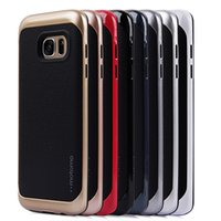Cheap For Apple iPhone Newest Motomo Brand Cases Best Plastic Black Leather Hybrid PC Back Cover Case