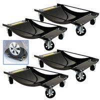 auto dolly - Dolly Vehicle Car X quot Set Auto Repair Moving Diamond Tire Wheel Dollies