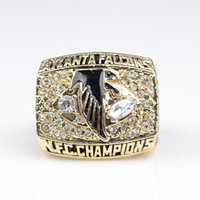 Wholesale New Design Golden Falcons Championship Rings